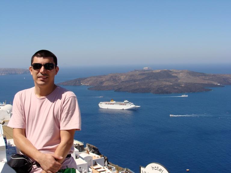 1. Retrato ao meio-dia. Santorini, Grécia, 2009